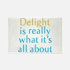 Delight Rectangle Magnet