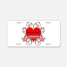 Unique Nurse student Aluminum License Plate