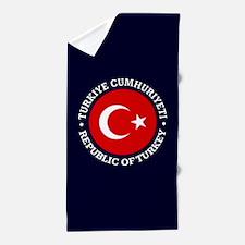 Turkey (rd) Beach Towel