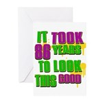 It took 86 years to look this Greeting Cards (Pk o