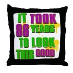 It took 86 years to look this Throw Pillow