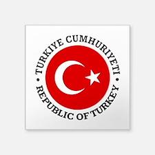 Turkey (rd) Sticker