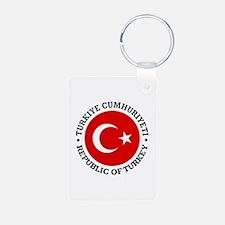 Turkey (rd) Keychains
