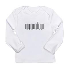 Bar Code Jesus Saves Long Sleeve Infant T-Shirt