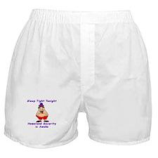 Homeland Security is Awake Boxer Shorts
