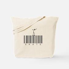 Bar Code Skate Tote Bag