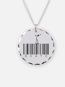 Bar Code Skate Necklace
