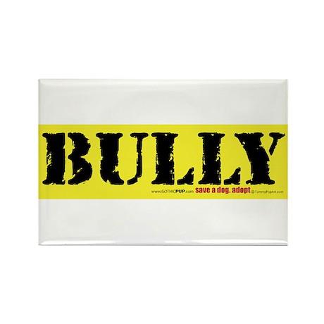 BULLY Pitbull Rectangle Magnet