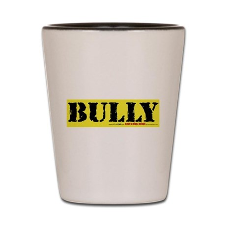 BULLY Pitbull Shot Glass