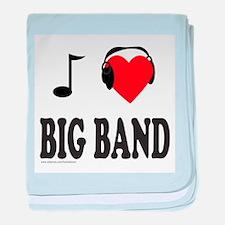 BIG BAND MUSIC baby blanket