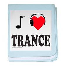 TRANCE MUSIC baby blanket