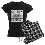 SOUTHPAW UNIVERSITY Women's Dark Pajamas