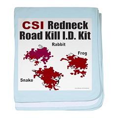 CSI REDNECK baby blanket