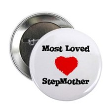 Most Loved StepMother Button