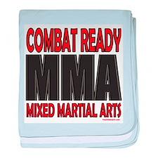 COMBAT READY MMA baby blanket