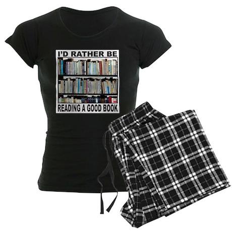 BOOK LOVER Women's Dark Pajamas
