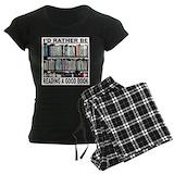 Book lovers Women's Pajamas Dark