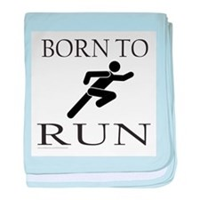 BORN TO RUN baby blanket