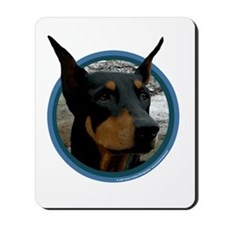 Doberman Art Mousepad