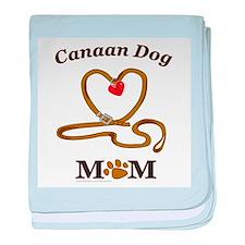 CANAAN DOG baby blanket