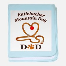 ENTLEBUCHER MOUNTAIN DOG baby blanket