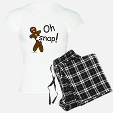 GINGERBREAD MAN OH SNAP Pajamas