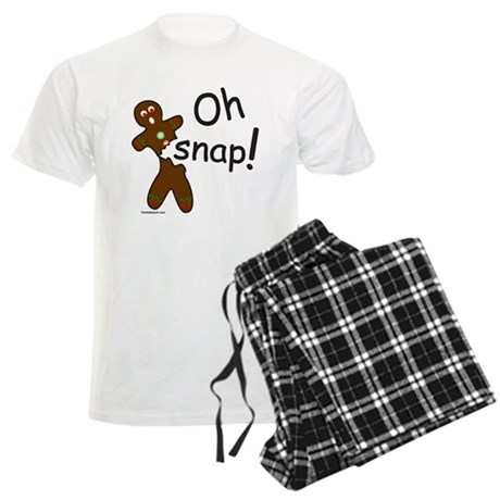 GINGERBREAD MAN OH SNAP Men's Light Pajamas