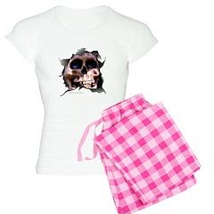 PIRATE'S SKULL Women's Light Pajamas