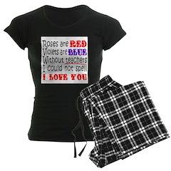 TEACHER'S VALENTINE'S DAY Pajamas