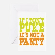 Pukin' Party Greeting Cards (Pk of 20)