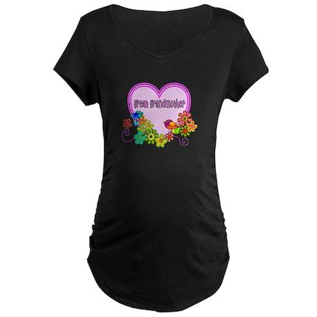 Family Gifts Maternity Dark T-Shirt