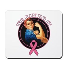 BreastCancer WeCanDoIt Mousepad