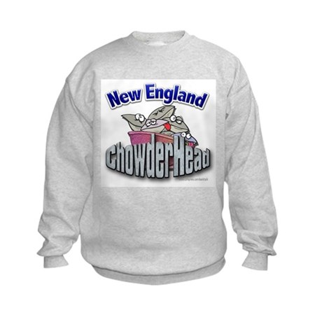 New England Chowderhead... Kids Sweatshirt