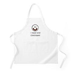 I Really Love Chocolate BBQ Apron