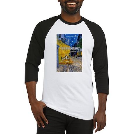 Vincent Van Gogh Color Art Baseball Jersey