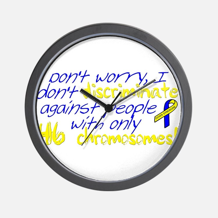 I won't judge you Wall Clock