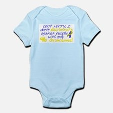I won't judge you Infant Bodysuit