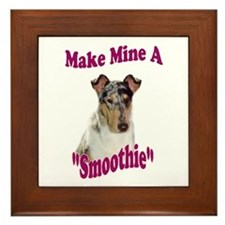 Smooth Collie Gifts Framed Tile