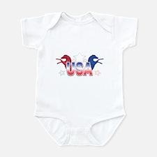USA Horses Infant Bodysuit
