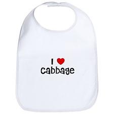 I * Cabbage Bib