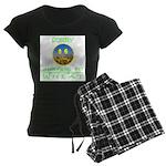 ALLERGIC TO WHEAT Women's Dark Pajamas