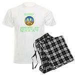 ALLERGIC TO WHEAT Men's Light Pajamas