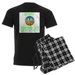 ALLERGIC TO WHEAT Men's Dark Pajamas