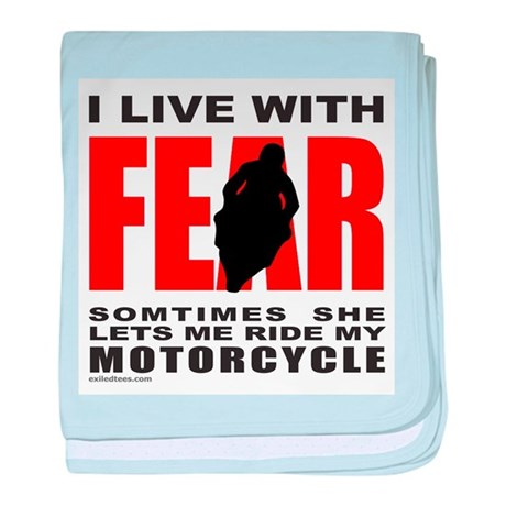 MOTORCYCLE/BIKER baby blanket