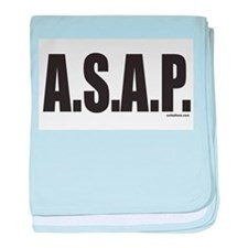 A.S.A.P. baby blanket
