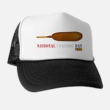 National Corndog Day Trucker Hat