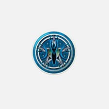 Pentacle of the Blue Goddess Mini Button