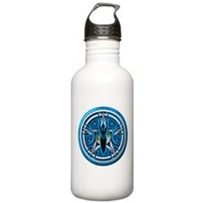 Pentacle of the Blue Goddess Water Bottle