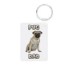 Pug Dad Keychains