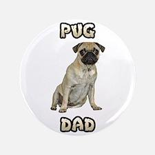 Pug Dad Button